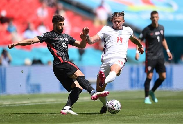 Англия победи Хърватия в първия си мач на Евро 2020 Снимки: Ройтерс
