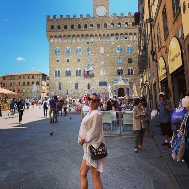 Деси Цонева във Флоренция