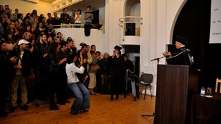 "Клаудия Кардинале вече е Doctor honoris causa на НАТФИЗ ""Кр. Сарафов"""