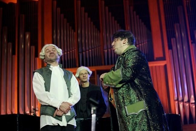 Популярни актьори ще въведат децата в света на Моцарт. Диригент на спектакъла - Максим Ешкенази