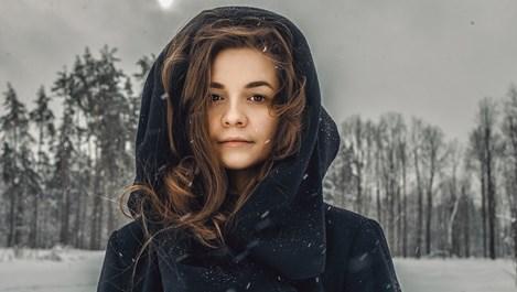 Пелерината – ледената кралица на зимата
