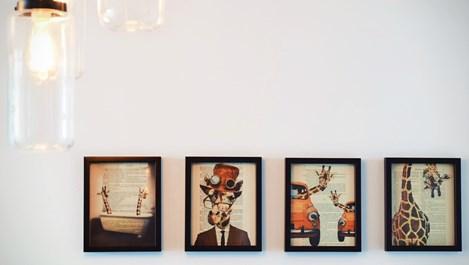 6 съвета за закачане на снимки и картини, без да съсипвате стената