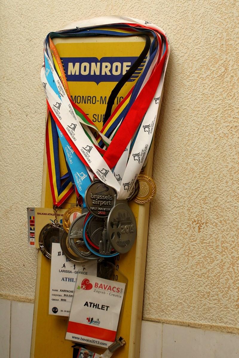 Петко има куп медали