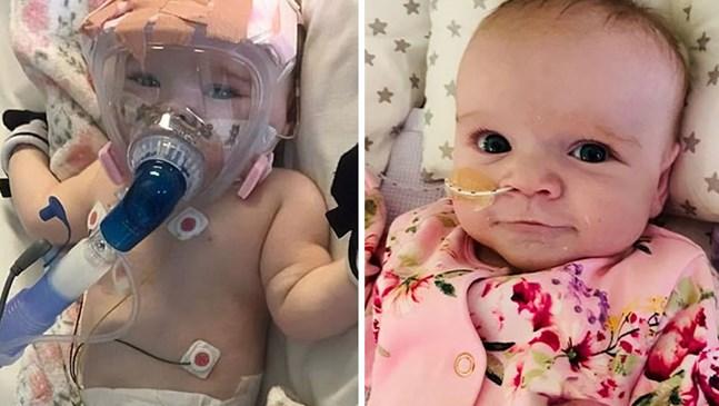 6-месечно бебе оцеля след сърдечна операция и коронавирус