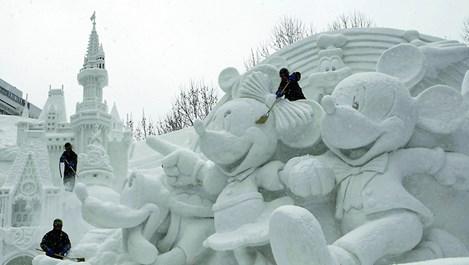 Снегът оживя (галерия)