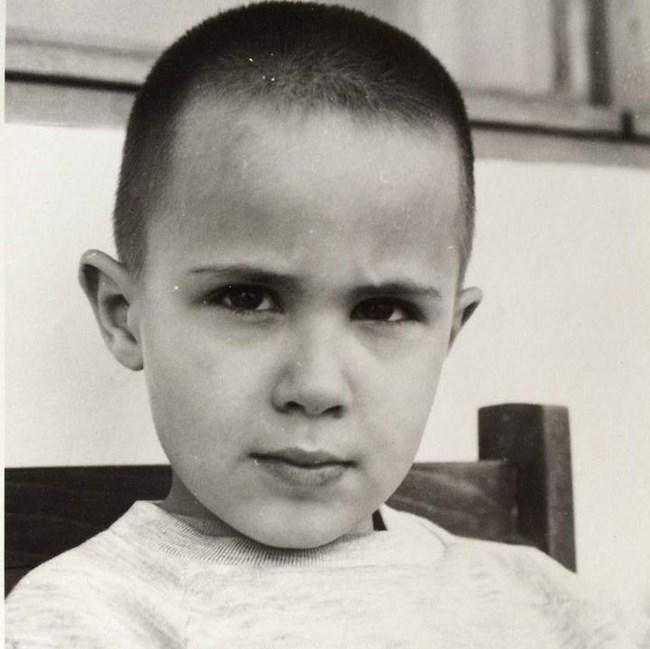 Наум като дете, снимка: личен архив