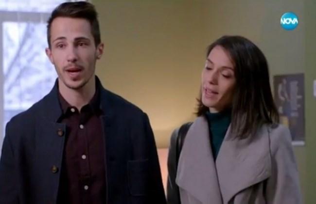 """Двамата с Луиза Григорова са новите попълнения в актьорския състав на сериала на Нова телевизия, кадър от """"Откраднат живот"""""""