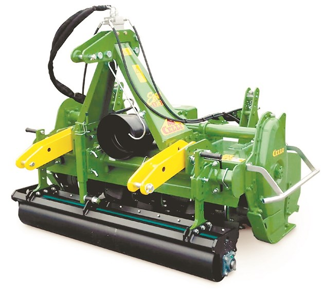 Фрезата ERGON N 120 BIO е подходяща за малки и средни производители