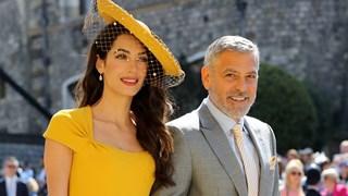 Амал Клуни сред най-елегантните гости на  сватбата на принц Хари и Меган