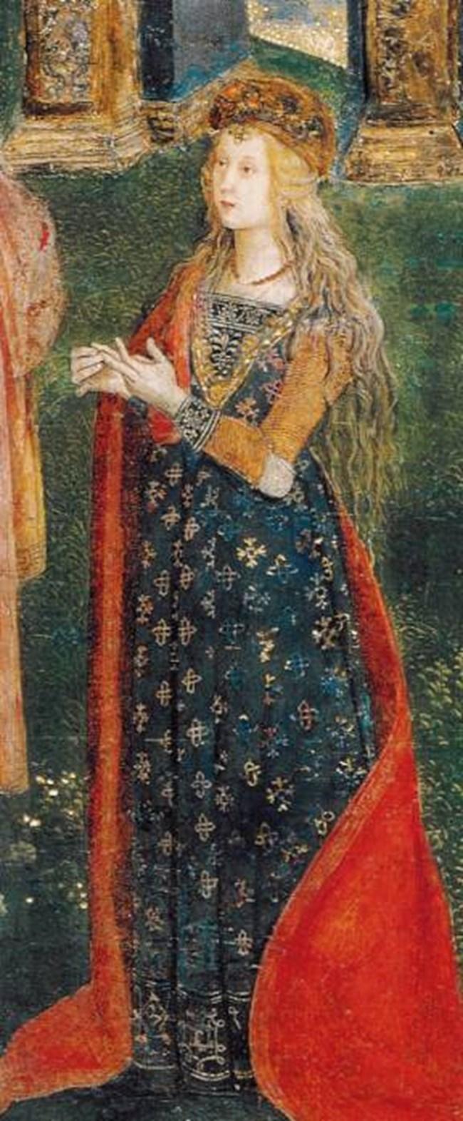 Предполагаем портрет на Лукреция Борджия от Пинтурикио СНИМКИ: УИКИПЕДИЯ