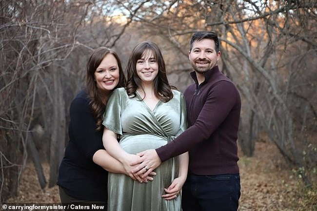 Американката Хилде даде живот на своята племенница Елоиз за радост на родителите и? Евън и Келси.