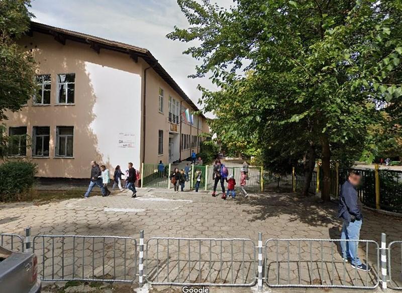 "107-о училище ""Хан Крум"" в кв. ""Лозенец"". Снимка ""Гугъл стрийт вю"""