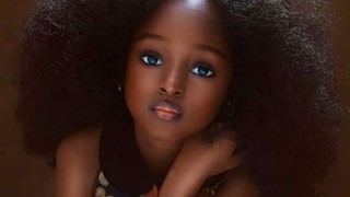 5-годишна нигерийка е новото най-красиво момиче в света (Галерия)