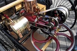 Прототип на двигател с вътрешно горене през 1886 година