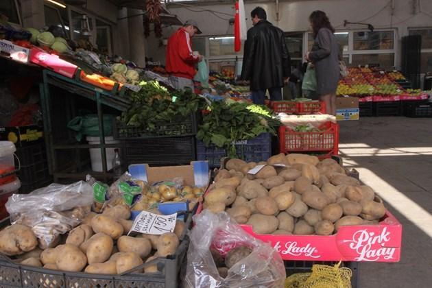 Добивите от картофи с 29% ръст, от домати - с 37% надолу