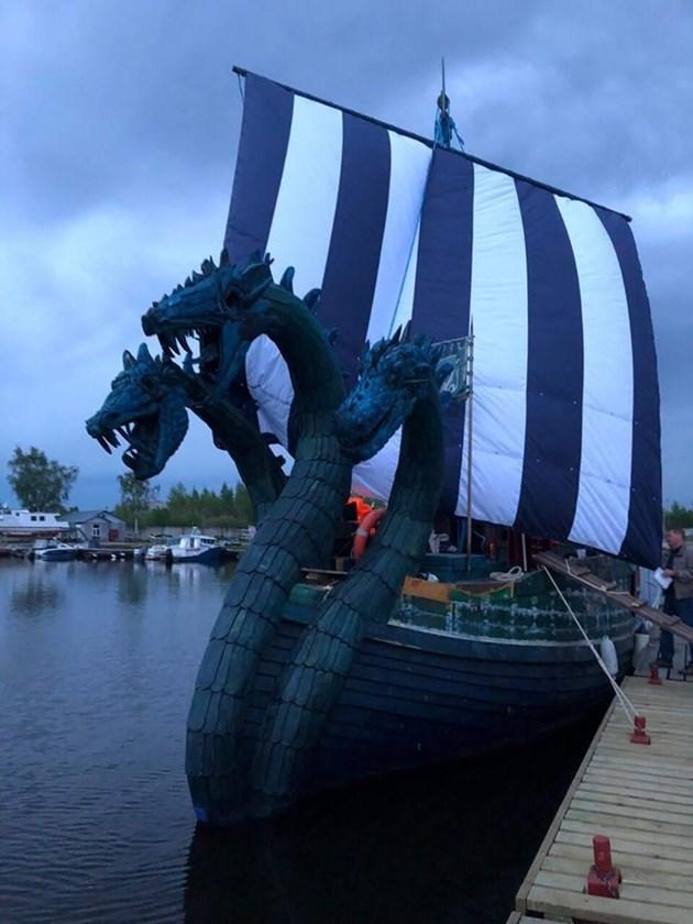 "Финландски граничари видяха ""триглаво чудовище"", оказа се руска яхта (Снимка)"