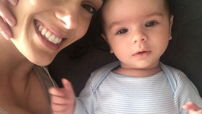 Луиза Григорова показа сина си Бран