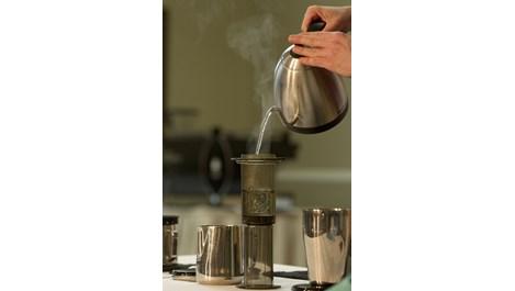 Аеропресата прави уникално кафе за секунди