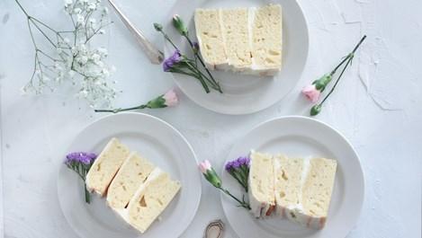 Ванилова торта с крем сирене