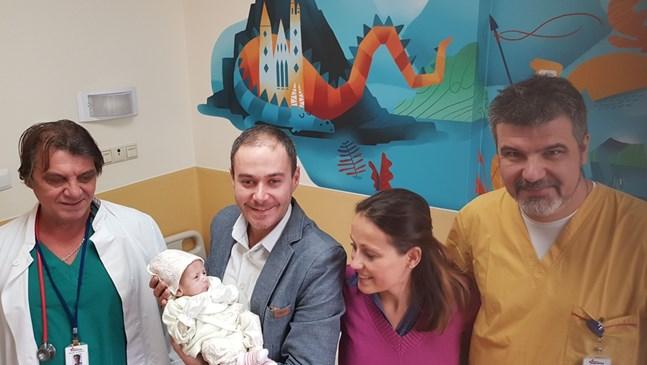 """В """"Пирогов"""" спасиха две бебета, родени с тежки коремни аномалии"""