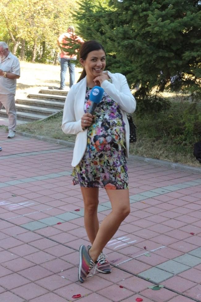 Дъщерята на Димитър Цонев - Деси Снимки: Румяна Тонева