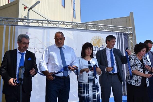 Бойко Борисов: Средната заплата в новооткрия рудник край Крумовград ще е 2 700 лв. (Обзор)