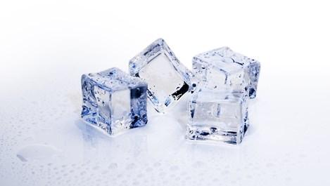 Триенето с лед прави кожата фантастична