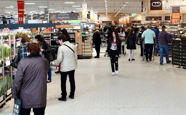 Търговските вериги оцениха бизнесклимата в България с 3,2 по 6-степенната скала