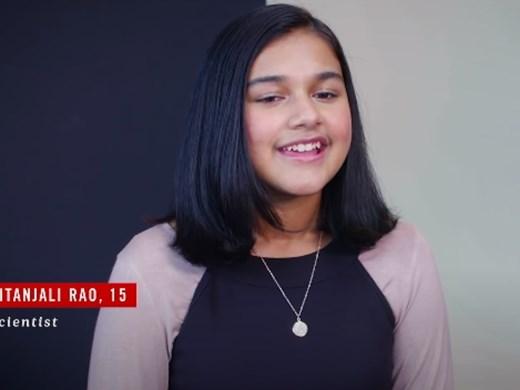 "Изобретателка на 15 години - първото Хлапе на годината на сп. ""Тайм"""