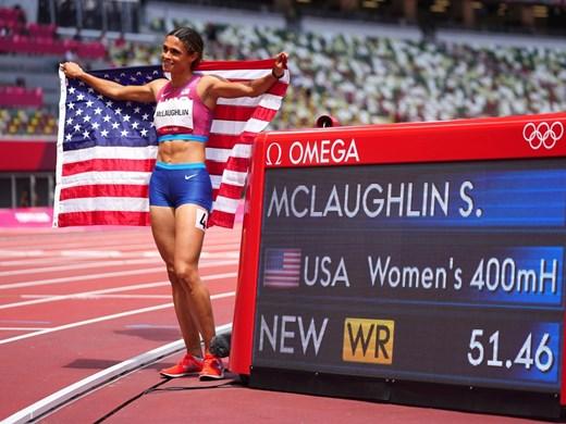 Трети световен рекорд в атлетиката на олимпиадата