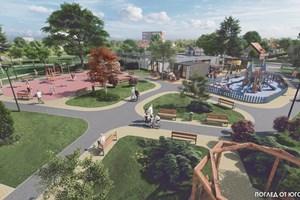 """Така ще изглежда бъдещият  спортен парк в """"Горубляне"""".  СНИМКИ:  """"СОФИЙСКИ ИМОТИ"""""""