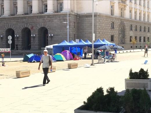 Вижте трите блокирани кръстовища в София (Снимки)