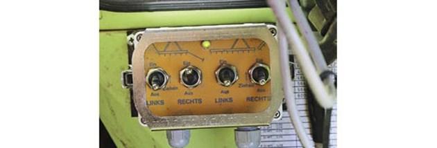 До 2007 г. терминалът на Kleine беше неразделна част от synchro-drive. Сгъването се изпълнява с прекъсвач с две позиции.