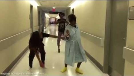 Бременна жена изуми всички с танцуването си (видео)