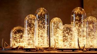 Идеи за светещи гирлянди (снимки)