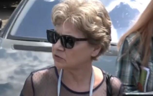 """Виолета Комитова инспектира строителството на магистрала """"Хемус"""""""