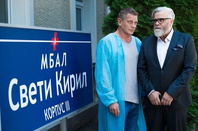 """С Юлиан Вергов си партнират в """"Откраднат живот"""". Той е един от приятелите, които Пенев моли да се включи в """"Бащата"""", снимка Красена Ангелова"""