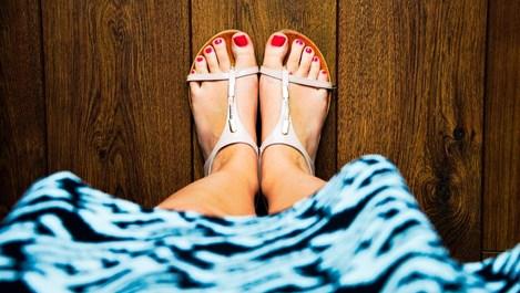 Как да поръчате точния размер дамски сандали