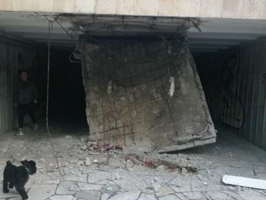 Ремонтират спешно подлеза на Делфинариума, чийто таван пропадна тази сутрин