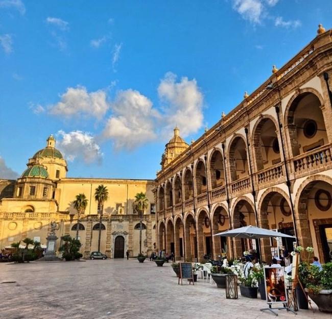 Изглед от Мазара дел Вало СНИМКА: ИНСТАГРАМ