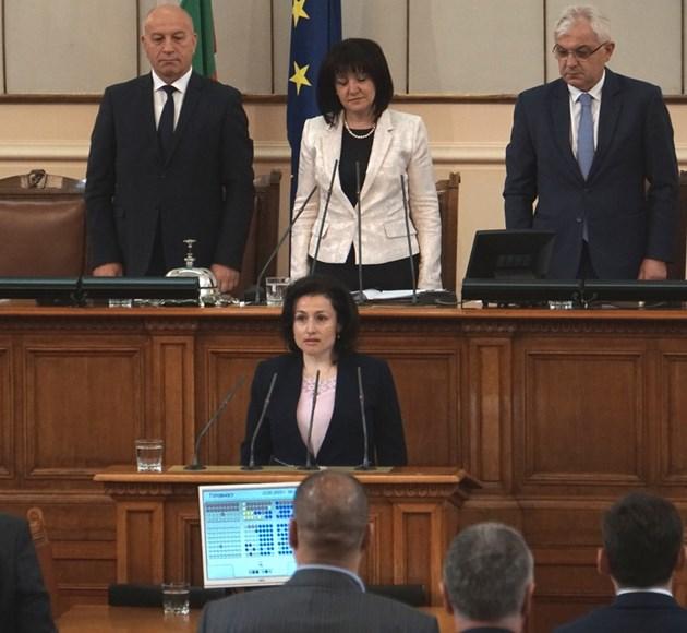 Десислава Танева е новият министър на земеделието, храните и горите СНИМКИ: Десислава Кулелиева