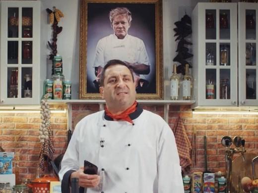 Тончо Токмакчиев шеф готвач в ситком на Димитър Митовски