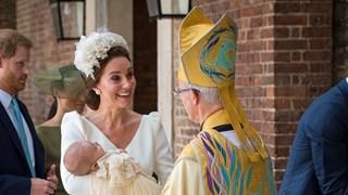Кейт и Меган зашеметителни на кръщенето на Луи (Снимки)