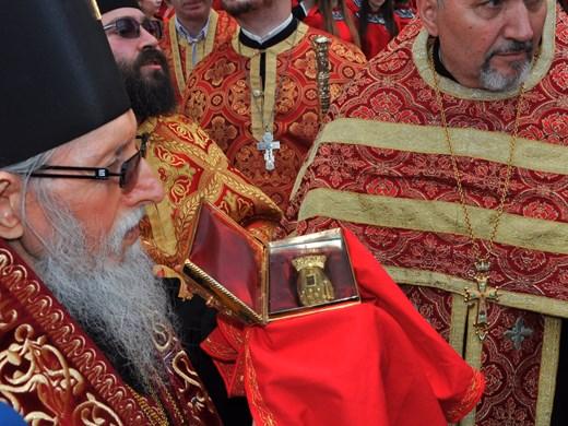 Бургазлии се поклониха пред мощите на Свети Георги