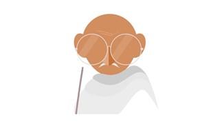 5-те начина за спечелване на спор на Махатма Ганди