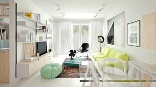 Ефирна светлина в малкото жилище (галерия)