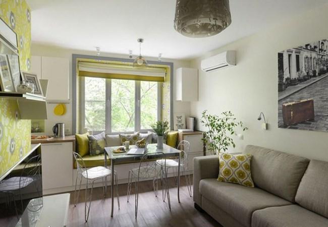 Кътче с по-мека мебел придава невероятен уют
