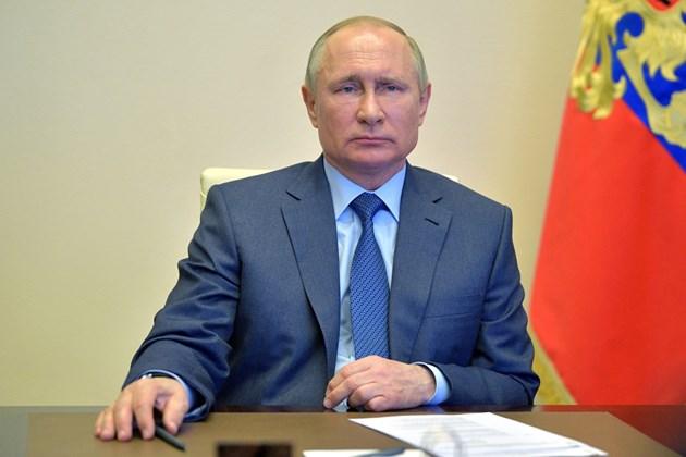 Путин обяви дните до 11 май за неработни в Русия