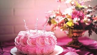 Торта с целувков крем