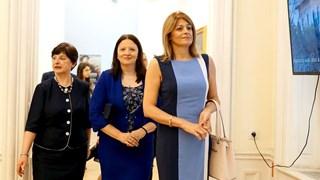 Деси Радева с българска рокля за 125 лв.